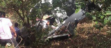 Reportan desplome de helicóptero que llevaba víveres a Oaxaca