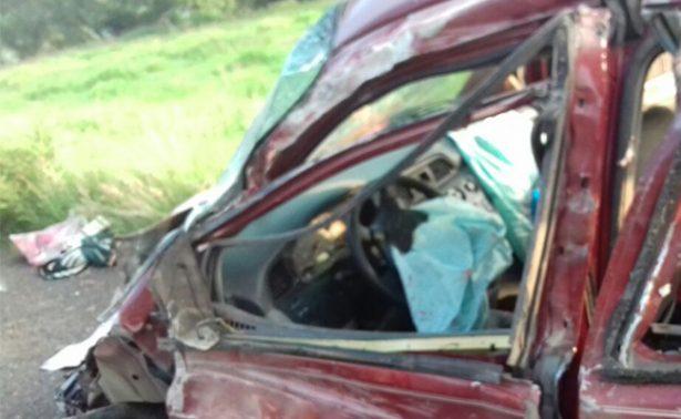 Accidente en autopista de Occidente; hay 2 fallecidos