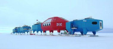 Grietas obligan a traslado de centro de investigación Halley en la Antártida