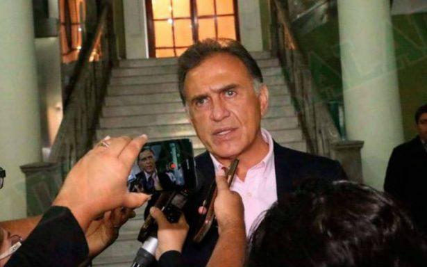 Duarte no saldrá de la cárcel, debe enfrentar tres órdenes de aprehensión: Yunes
