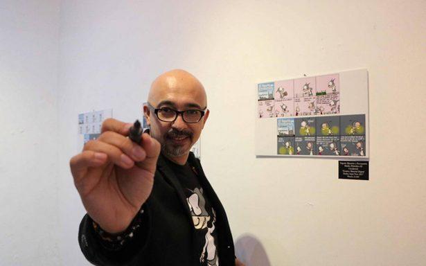 Osvaldo Muñoz inaugura la exposición Monos de a cuarto en Guadalajara