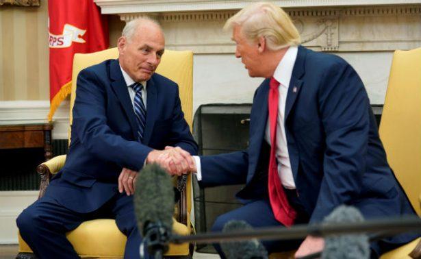 """Trump nombra a John Kelly jefe de Gabinete; """"hará un trabajo espectacular"""", dice"""