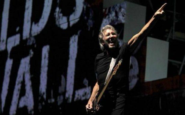 """Roger Waters canta junto a """"Le Trio Joubran"""" a favor de palestinos"""