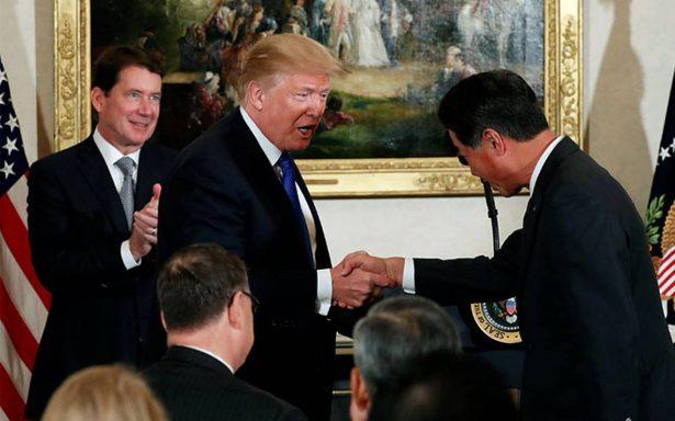Trump considera al comercio entre EU y Japón que 'no es ni justo ni abierto'