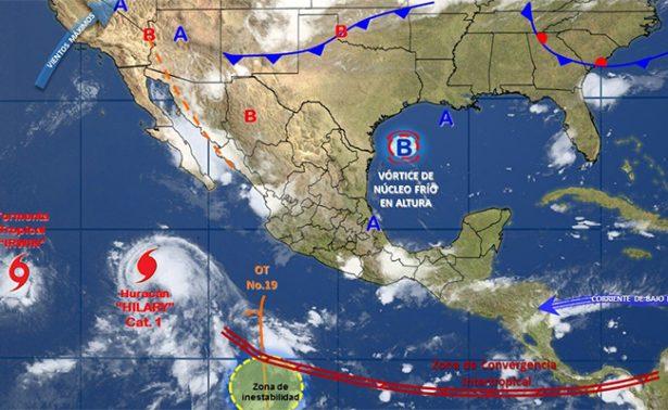Mantendrá Hilary oleaje elevado en Península de Baja California
