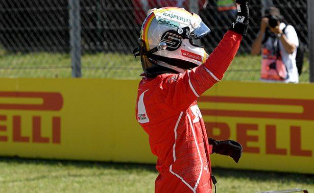 Sebastian Vettel iniciará la carrera del Gran Premio