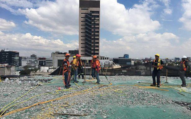 Finaliza desmantelamiento del helipuerto de Nuevo León