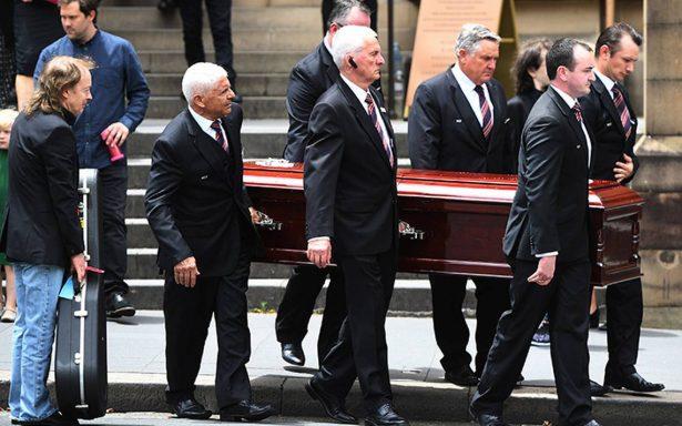 Despiden al corazón de AC/DC: realizan funeral de Malcolm Young