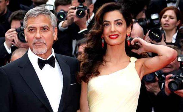 George Clooney demanda por paparazzi de sus gemelos