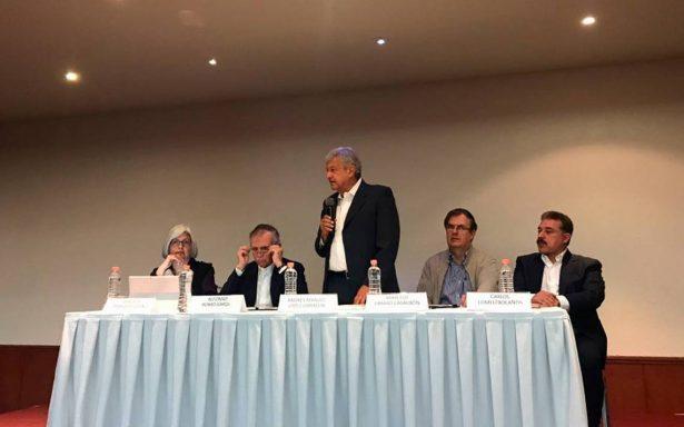 Se le va a reconocer a Peña Nieto si hay elecciones limpias: AMLO