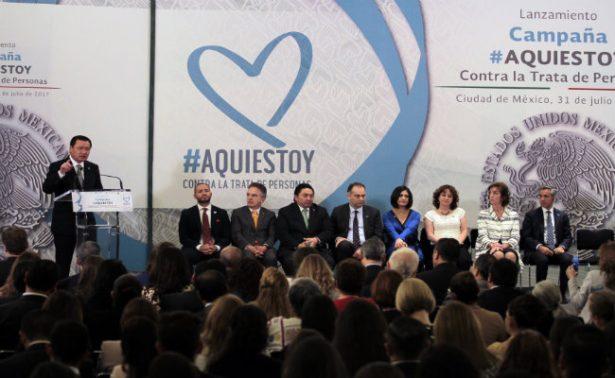 México, ONU y EU unen esfuerzos para enfrentar trata de personas