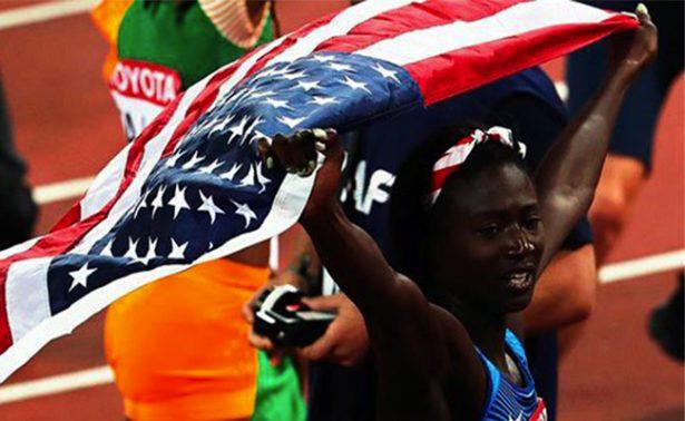 EU logra vencer a Jamaica en el Mundial de Atletismo