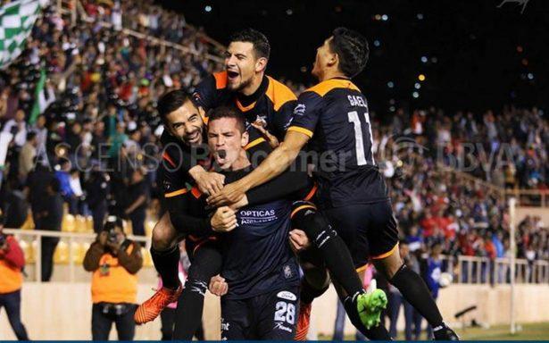 Alebrijes gana con la minima el partido de ida de la Gran Final del Ascenso MX