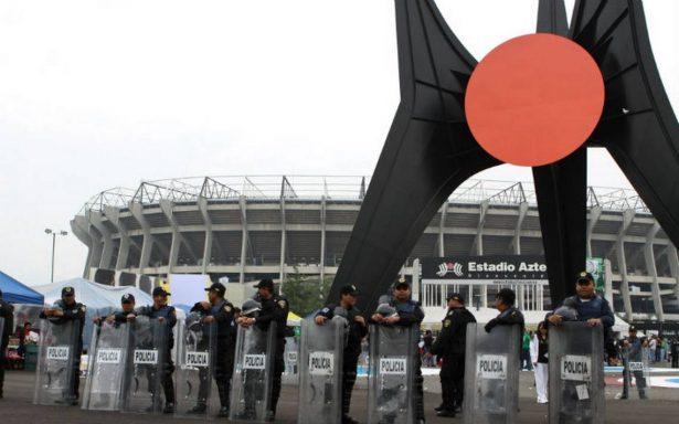 Más de tres mil policías vigilarán el América-Cruz Azul en el Azteca