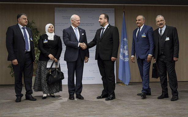 Se juega en Ginebra el futuro de Siria; Damasco llegará a Suiza