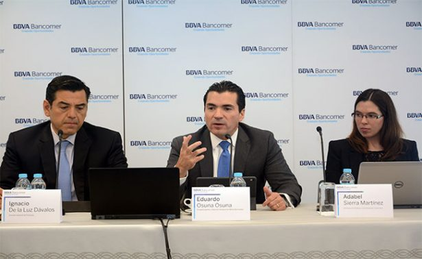 La filial de BBVA en México registró crecimientos interanuales del 9.2%