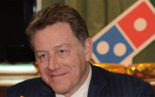 Domino's Pizza invertirá 2 mil mdp en México, anuncia el CEO Patrick Doyle