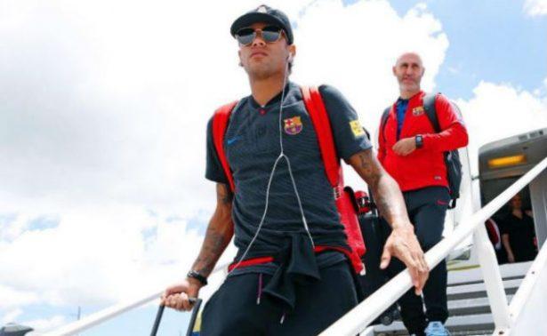 Neymar llega a China en medio de rumores sobre traspaso