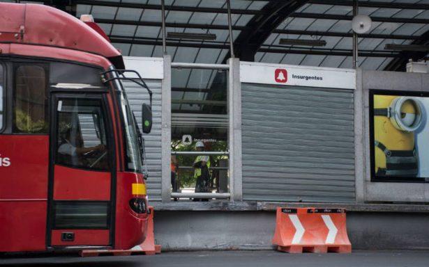 Metrobús interrumpirá mañana su servicio en líneas 3 y 4