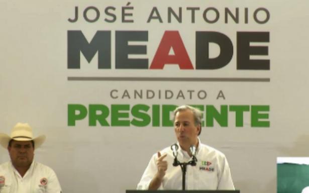 Meade promete seguridad alimentaria y seguro social para campesinos