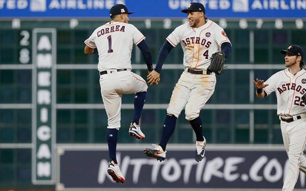Los Astros de Houston derrotan 8-2 a los Medias Rojas de Boston