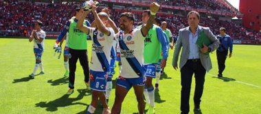 Puebla sorprende y vence al líder Toluca 3-1