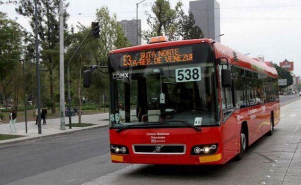 Metrobús aplicará circuitos en Líneas 1,3 y 4 por desfile en Reforma