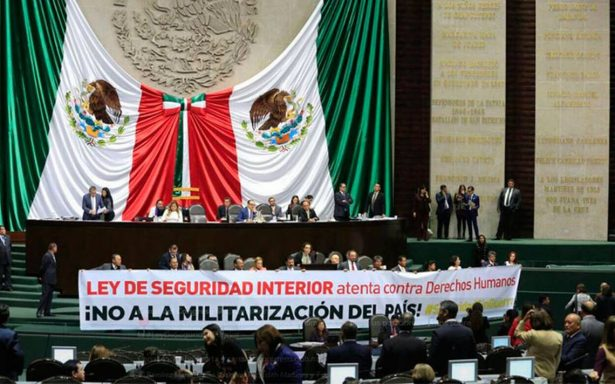 Diputados aprueban en lo general y particular la Ley de Seguridad Interior
