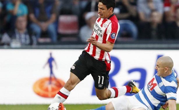 """¡Se estrena! """"Chucky"""" anota su primer gol con el PSV"""