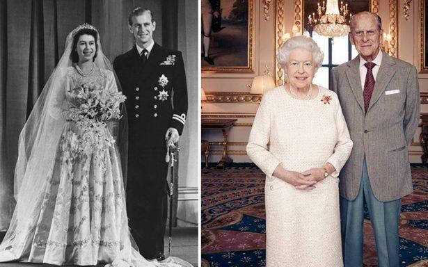 Un amor con mucha historia: reina Isabel y príncipe Felipe festejan su 70° aniversario de boda