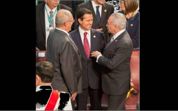 EPN se reune con opositores venezolanos en Chile