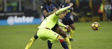 """Inter avanza en Copa Italia por """"chilena"""" de Murillo"""