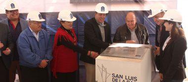 Inició la construcción de parque industrial en San Luis de la Paz