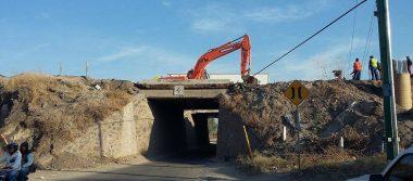 Ya cerraron puente a San Miguel Octopan