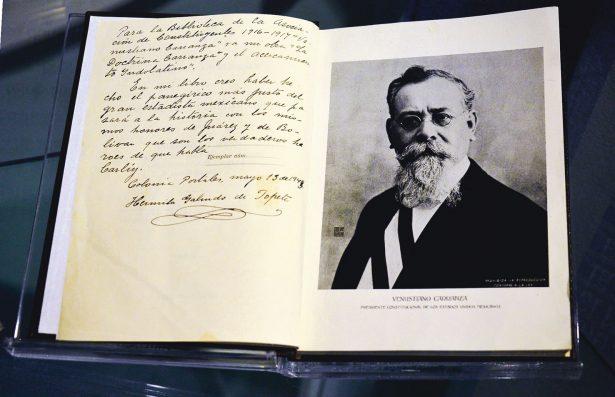 Celebran hoy el Centenario  de la Constitución de 1917