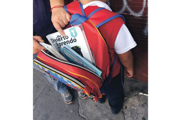 "Aplicarán ""Mochila Segura"" en escuelas"