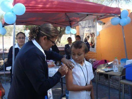 Segunda Semana Nacional de Vacunación en San Miguel de Allende y zona norte