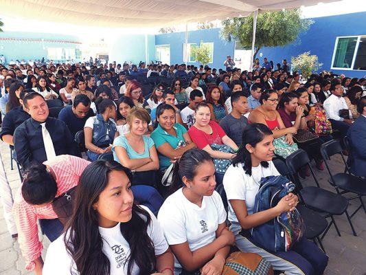 Acudieron 800 jóvenes a la Expo Empleo Juvenil 2017