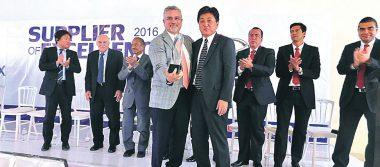 Recibió Arbomex reconocimiento Supplier of Excellence