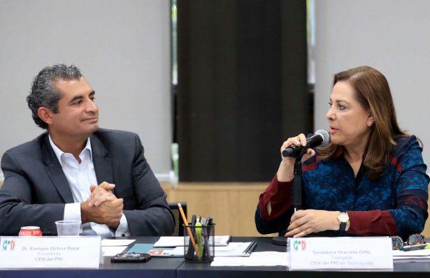 Nombra PRI a Graciela Ortiz  Delegada del CEN en Guanajuato