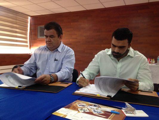 Firma CRODE convenio con Instituto Superior de Naranjos, Veracruz