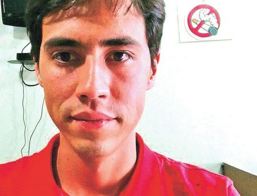 Jorge Luis Aguacaliente, un padre a los 19 años