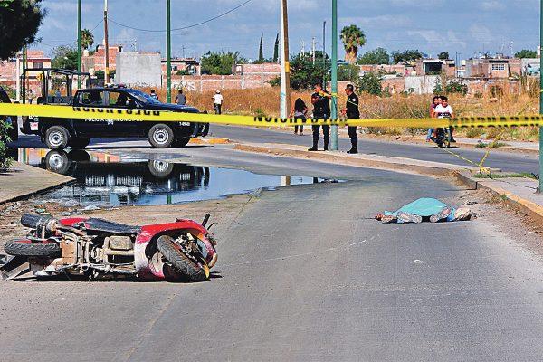 Fallece motociclista tras derrapar en un charco en Patria Nueva