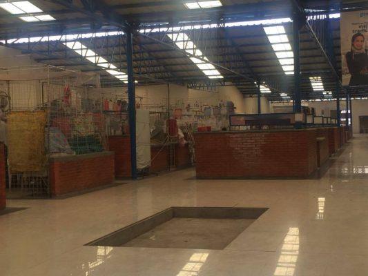 Aun no hay fecha de entrega del mercado Chamacuero