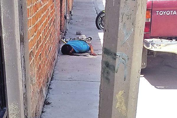 Agente de Tránsito dispara  en contra de un joven