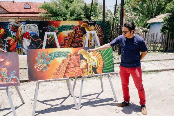 """Inauguran Mural """"Nuestras Raíces"""""""