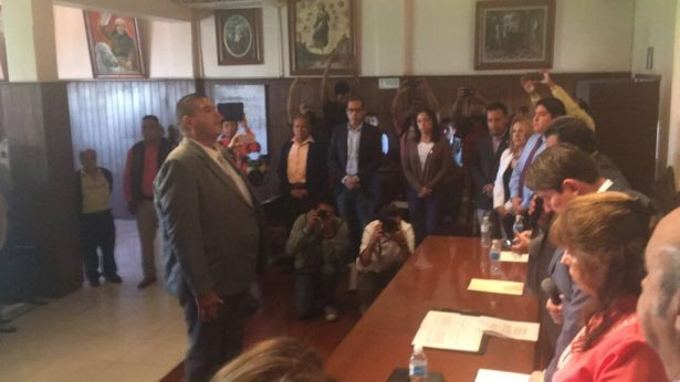 Rinden protesta nuevos jefes policiacos de Celaya