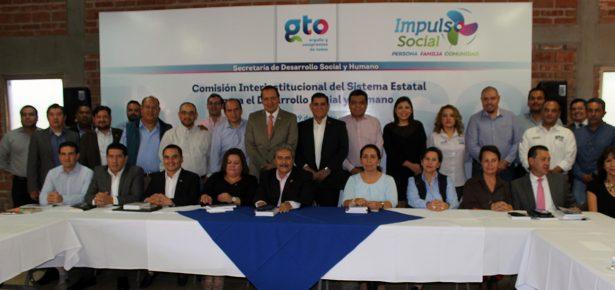 Participan 21 dependencias en la tercera sesión interinstitucional de Impuso Social