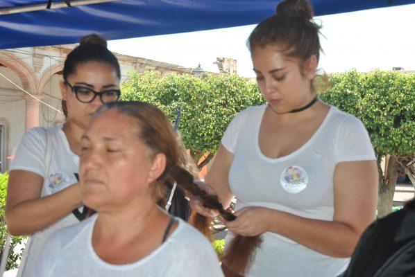 El alcalde de Salvatierra participó en donativos
