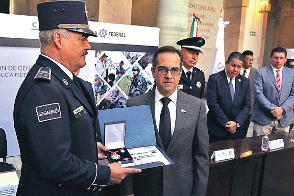 Reconocen trabajo de la Gendarmería Nacional